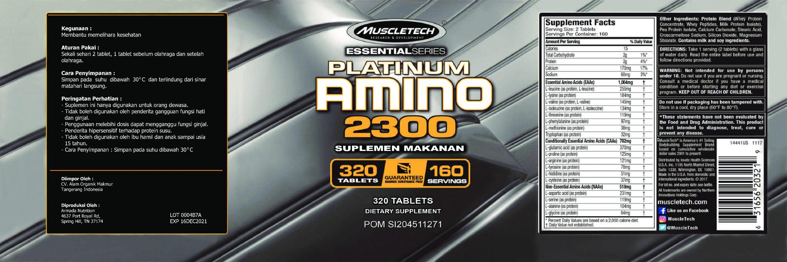 Label Muscletech Amino (revisi) VI