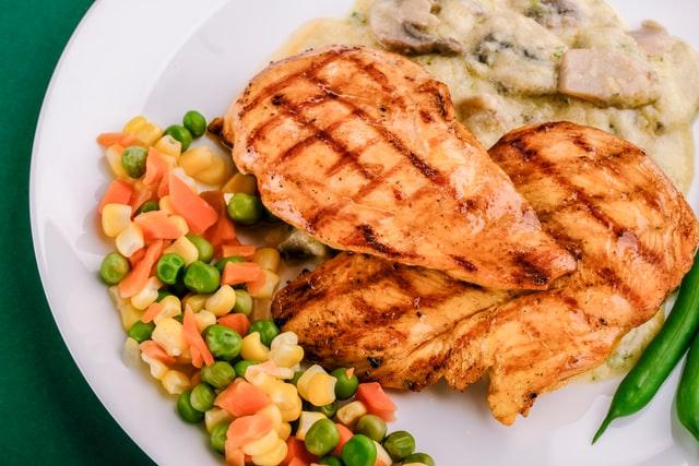 dada ayam panggang