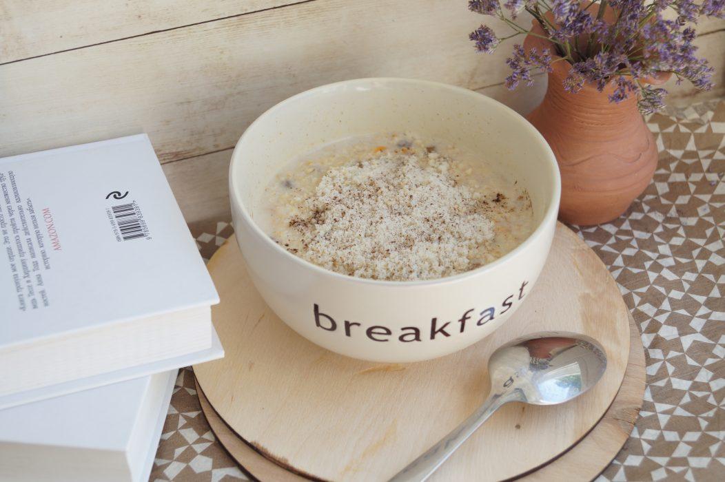 sarapan oatmeal